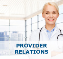 Provider-Relations