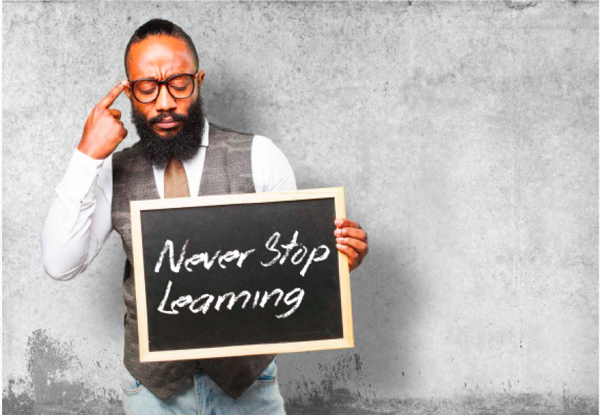Never Stop Learning: Expand Your Potential Through Professional Development